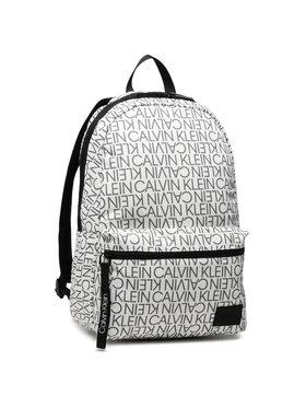 Calvin Klein Calvin Klein Zaino Campus Bp Rtw Mono K50K506920 Bianco