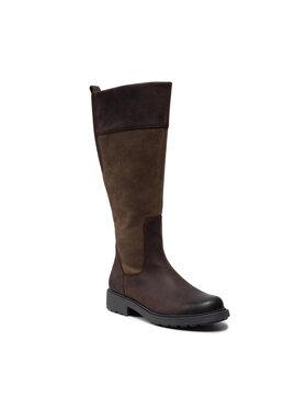 Clarks Clarks Stiefel Orinoco2 Hi 261516854 Braun