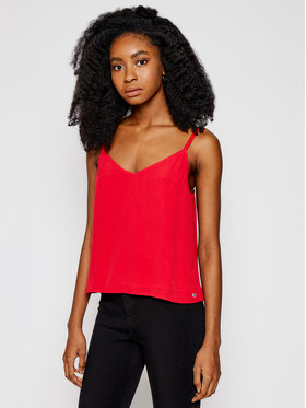 Tommy Jeans Tommy Jeans Top Tjw Cami DW0DW09772 Rosso Regular Fit