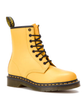 Dr. Martens Dr. Martens Glany 1460 Smooth 24614700 Żółty