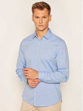 Marc O'Polo Marc O'Polo Košile B21 1504 42112 Modrá Shaped Fit