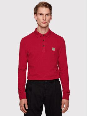 Boss Boss Polo Passerby 50387465 Bordowy Slim Fit