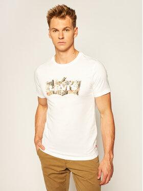 Levi's® Levi's® T-Shirt Housemark Graphic Tee 22489-0277 Bílá Regular Fit