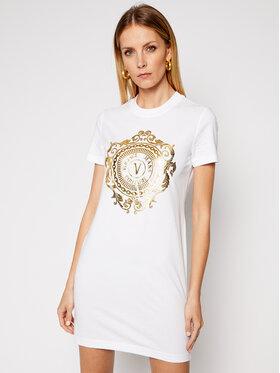 Versace Jeans Couture Versace Jeans Couture Sukienka codzienna D2HWA4FA Biały Regular Fit