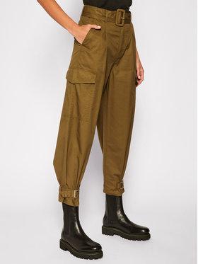 Tommy Jeans Tommy Jeans Pantaloni din material DW0DW08321 Verde Regular Fit