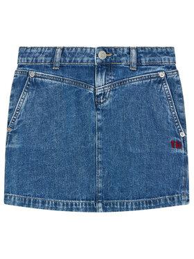 Tommy Hilfiger Tommy Hilfiger Spódnica jeansowa KG0KG05784 D Granatowy Regular Fit