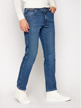 Wrangler Wrangler Jeans Slim Fit Texas W12SU5238 Blu scuro Authentic Slim Fit