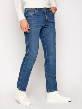 Wrangler Wrangler Slim fit džínsy Texas W12SU5238 Tmavomodrá Authentic Slim Fit