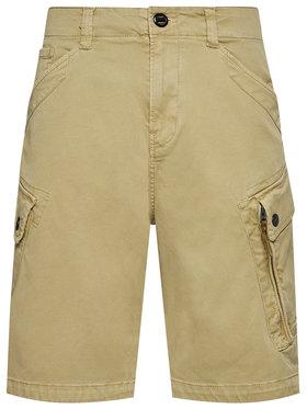 G-Star Raw G-Star Raw Bavlnené šortky Roxic D14034 C096 B680 Hnedá Regular Fit