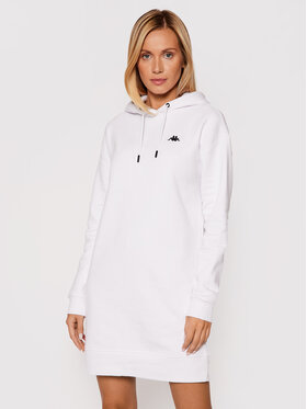 Kappa Kappa Трикотажна сукня Jamala 310023 Білий Regular Fit