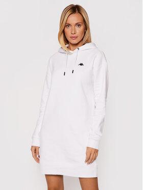 Kappa Kappa Úpletové šaty Jamala 310023 Bílá Regular Fit