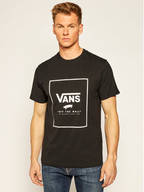 Vans Vans Marškinėliai Print Box VN0A312S Juoda Slim Fit