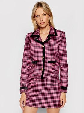 Versace Jeans Couture Versace Jeans Couture Μπλέιζερ Jacquard Dis Vichy Bicolore 71HAQ703 Ροζ Regular Fit