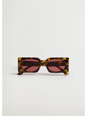Mango Mango Okulary przeciwsłoneczne Way 87097627 Brązowy