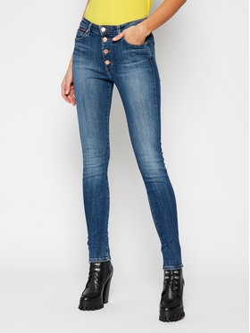 Tommy Jeans Tommy Jeans Jeansy Super Skinny Fit Sylvia DW0DW09054 Granatowy Skinny Fit