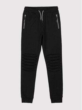 Coccodrillo Coccodrillo Teplákové nohavice ZC1120101FRE Čierna Regular Fit