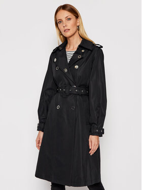 Guess Guess Trench-coat Peggy W1RL00 WDO40 Noir Regular Fit