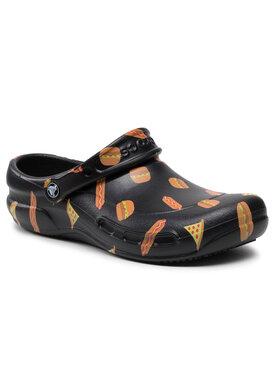 Crocs Crocs Pantoletten Bistro Graphic Clog 204044 Schwarz