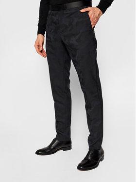 Tommy Hilfiger Tailored Tommy Hilfiger Tailored Spodnie garniturowe Flex Dsn Tux TT0TT08485 Granatowy Slim Fit