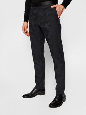 Tommy Hilfiger Tailored Tommy Hilfiger Tailored Spoločenské nohavice Flex Dsn Tux TT0TT08485 Tmavomodrá Slim Fit