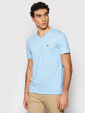 Lacoste Lacoste Marškinėliai TH6710 Mėlyna Regular Fit