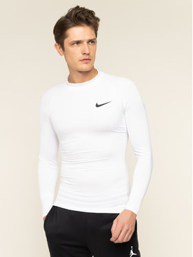 NIKE NIKE Термооблекло горна част Pro Top BV5592 Бял Tight Fit