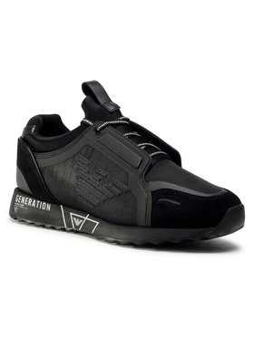 Emporio Armani Emporio Armani Sneakers X4X314 XM493 M994 Negru