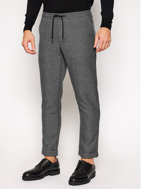 Tommy Hilfiger Tommy Hilfiger Παντελόνι υφασμάτινο Active Pant Prince Of Wales MW0MW14947 Γκρι Regular Fit