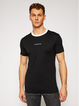 Calvin Klein Jeans Calvin Klein Jeans T-Shirt J30J316452 Czarny Regular Fit