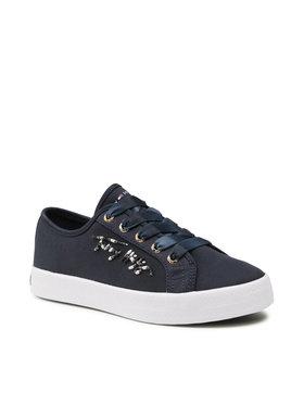 Tommy Hilfiger Tommy Hilfiger Sneakersy Essential Gradient Sneaker FW0FW05802 Granatowy