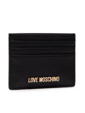 LOVE MOSCHINO LOVE MOSCHINO Калъф за кредитни карти JC5563PP1ALQ0000 Черен