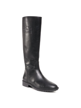 Coach Coach Klassische Stiefel Fynn Leather Boot G5481 Schwarz