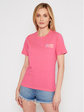 Converse Converse T-shirt Exploration Team 10022260-A03 Rose Standard Fit