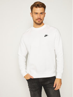 NIKE NIKE Sweatshirt Nsw Club BV2662 Weiß Standard Fit