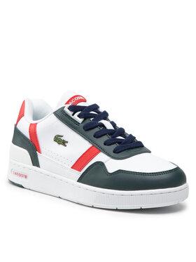 Lacoste Lacoste Sneakersy T-Clip 0121 2 Suj 7-42SUJ00101R5 Biela