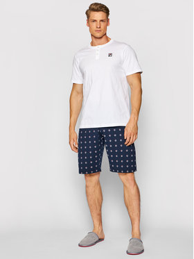 Fila Fila Pyjama FPS1059 Weiß