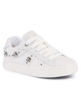 Geox Geox Sneakers J Kilwi G. A J02D5A 01085 C1000 M Weiß