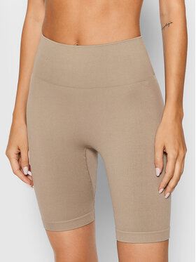 Guess Guess Pantaloni scurți sport Alma O1BA18 ZZ04S Bej Slim Fit