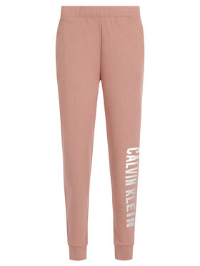 Calvin Klein Performance Calvin Klein Performance Teplákové kalhoty 00GWH9P655 Růžová Regular Fit