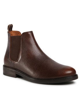 Gino Rossi Gino Rossi Kotníková obuv s elastickým prvkem MI07-A962-A791-26 Hnědá