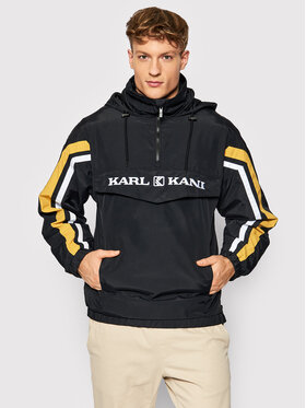Karl Kani Karl Kani Bunda anorak Retro Block 6084019 Černá Regular Fit