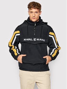 Karl Kani Karl Kani Geacă fără fermoar Retro Block 6084019 Negru Regular Fit