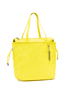 Desigual Desigual Τσάντα 21SAXPAG Κίτρινο
