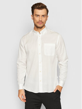 Selected Homme Selected Homme Chemise Rick-Soft 16077348 Blanc Regular Fit