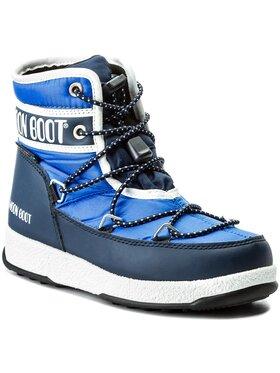 Moon Boot Moon Boot Stivali da neve Jr Mid Wp 34051200002 Blu