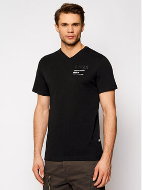 G-Star Raw G-Star Raw T-Shirt Chest Graphic D19218-336-6484 Černá Regular Fit