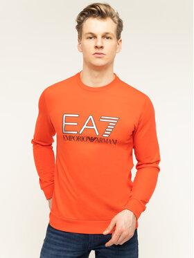 EA7 Emporio Armani EA7 Emporio Armani Sweatshirt Train Logo 3HPM22 PJ05Z 1453 Rot Regular Fit