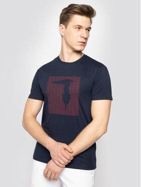 Trussardi Jeans Trussardi Jeans T-Shirt 52T00311 Σκούρο μπλε Regular Fit
