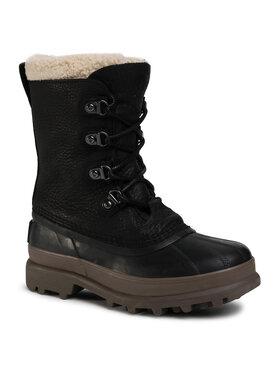 Sorel Sorel Śniegowce Caribou Stack Wp NM3907 Czarny