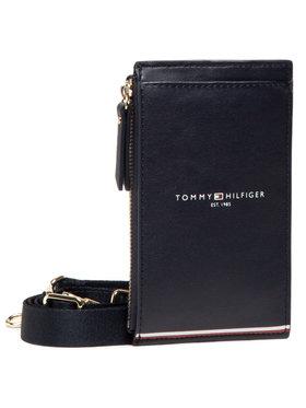 Tommy Hilfiger Tommy Hilfiger Geantă Tommy Shopper Phone Wallet AW0AW09895 Bleumarin
